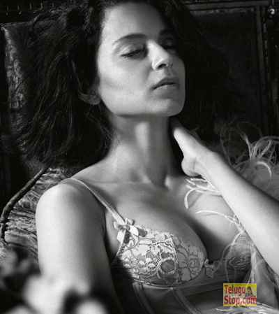 GQ Magazine October Issue Kangana Hot Pic Kangana Ranaut Stunning Cleavage Show From Top Actress Photo,Image,Pics-