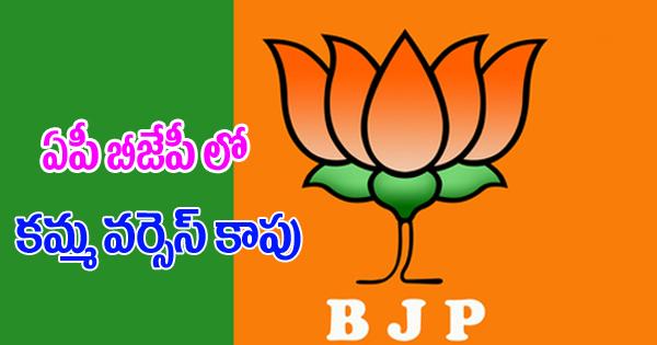 Kapu Vs Kamma In Ap BJP- Telugu