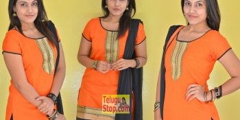 Chandana Raj New Stills At Karam Dosa Movie Press Meet