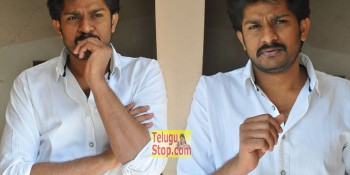 Hero Sandeep Interview Photos At Vangaveeti Movie