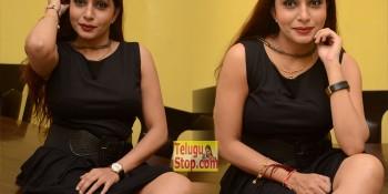 Pooja Roshan Hot Stills At Plus One Movie Press Meet