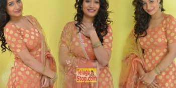 Santoshi Sharma New Stills At HBD Movie Teaser Launch