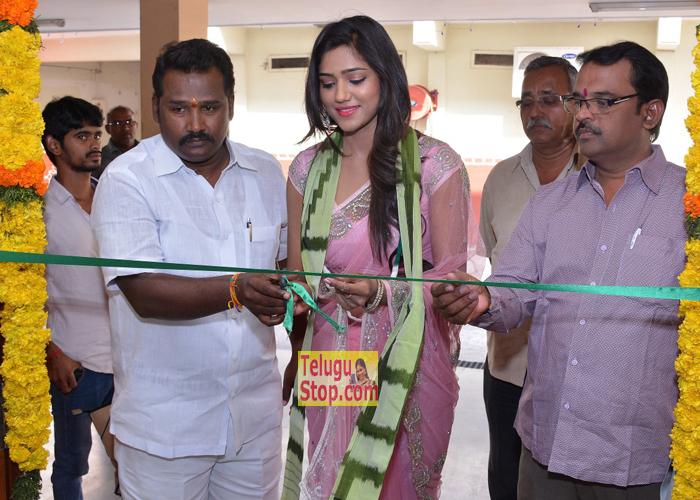 Shalu Chourasiya At Pochampally IKAT Art Mela- Telugu