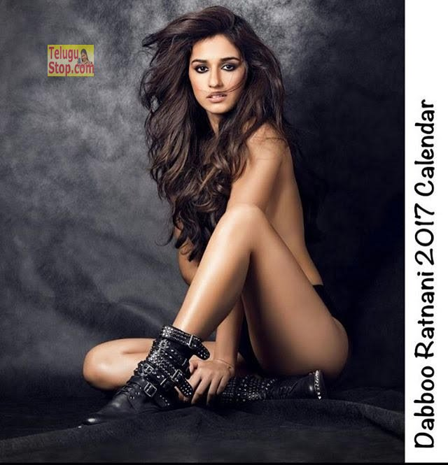 Disha Patani topless Photoshoot