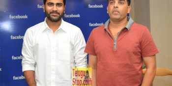 Dil Raju and Sharwanand at Facebook Office At Shatamanam Bhavati Movie