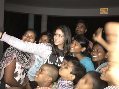 Daddy's Home Orphanage Gannavaram Lavanya Spreads Joy In Tripathi Mister Photo,Image,Pics-