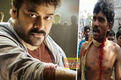 First Day Show Khaidi No 150 Tickets No.150 Mad Fan Cuts His Throat For Mega Fans Vishakapatnam Photo,Image,Pics-