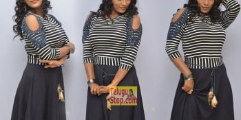 Meghana New Stills At HBD Audio Launch