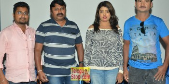 No 1 Hero Rajendra Movie Press Meet At Sridevi