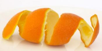 Orange Peel fights with pimples Oil Skin Home Remedie