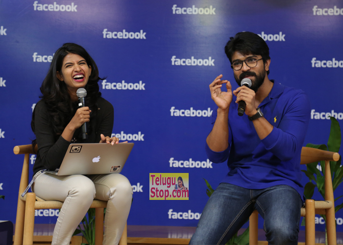 Ram Charan At Hyderabad Facebook Offic Promotes Khaidi No 150 Office Download Online HD Quality