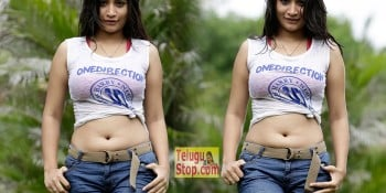 Santoshi Hot Stills At Photo Shoot