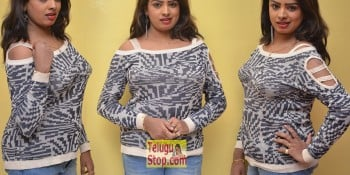 Sridevi New Actress Stills At No 1 Hero Rajendra Movie Press Meet