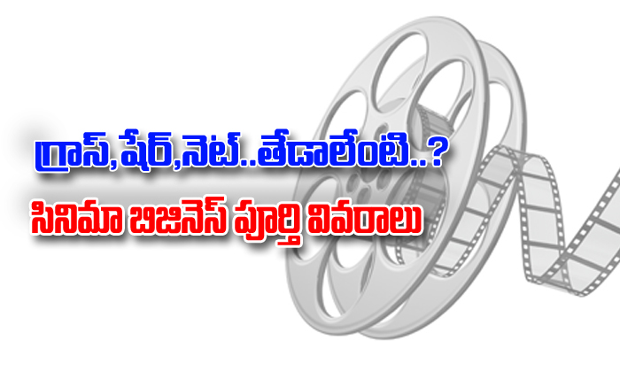 Gross, Nett, Share .. Cinema Business Details You Should Know- Telugu