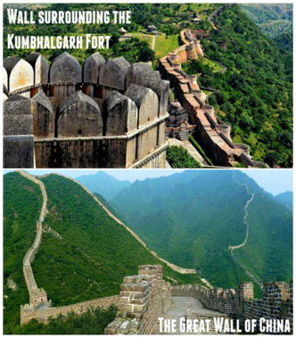 Top 10 Omg Places In India That Look Alike Foreign Places-kumbhalgarh,look Alike Foreign Places,udaipur Telugu Viral News Top 10 Omg Places In India That Look Alike Foreign Places-kumbhalgarh Look Uda-Top 10 OMG Places In India That Look Alike Foreign Places-Kumbhalgarh Look Udaipur