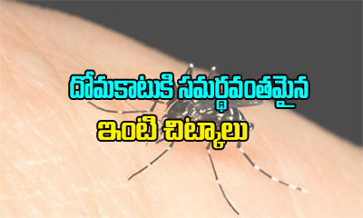 Home Remedies For Mosquito Bites---