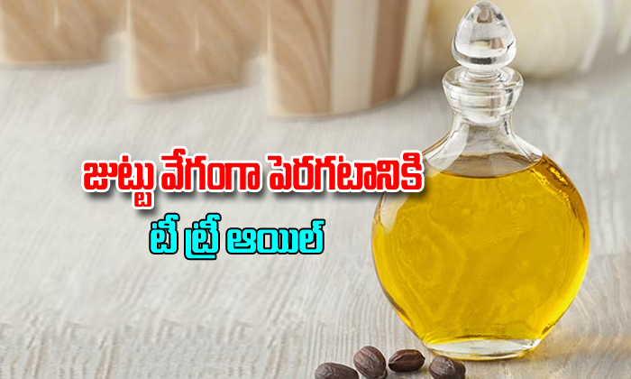 Tea Tree Oil For Hair Grow- Telugu