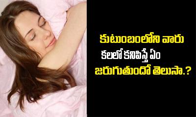 What Do Dreams About Family Mean.?- Telugu Devotional Bhakthi(తెలుగు భక్తి ) What Do Dreams About Family Mean.?---