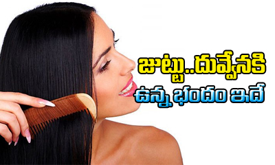 Hair Loss Control With Comb--