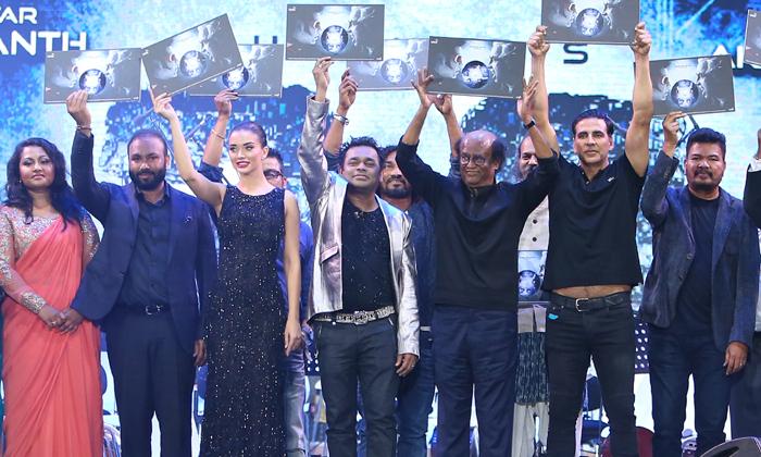 2.0 Movie Audio Launch At Dubai- Telugu