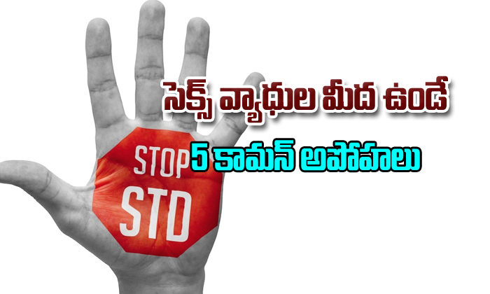 5 common Myths around STD's ($exually Transmitted Diseases)-,