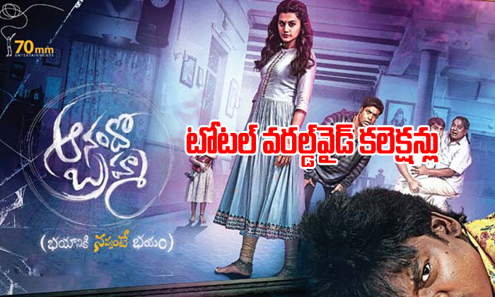 Anando Brahma total worldwide collections-