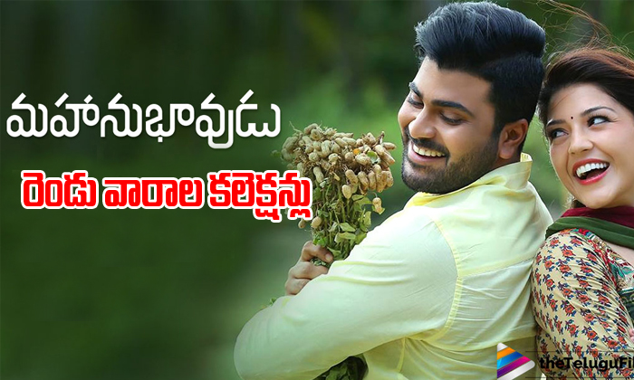 Mahanubhavudu 2 weeks collections-