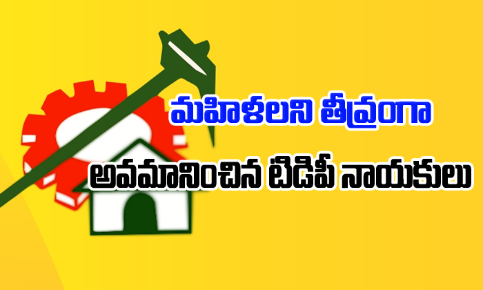 Tdp leaders insulting old lady for Pension-