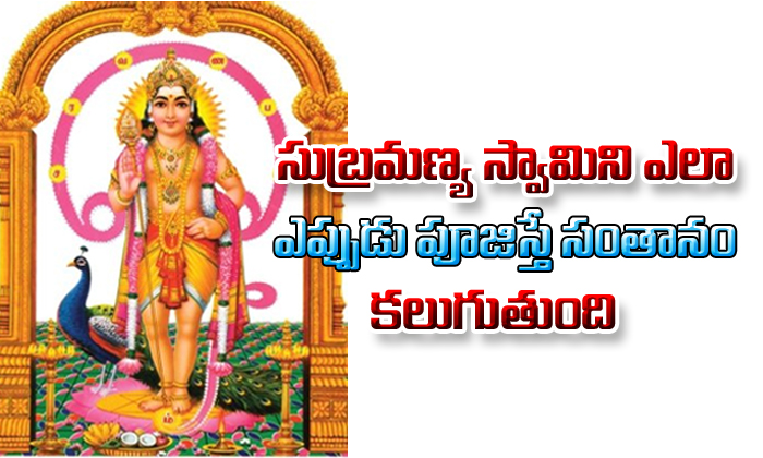 For Children Do Subramanya Swamy Puja--For Children Do Subramanya Swamy Puja-