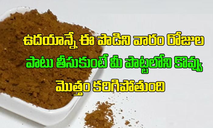 Homemade Weight Loss Slimming Powder-,