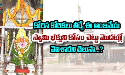 History Of Maddi Anjaneya Swamy Temple In West Godavari---