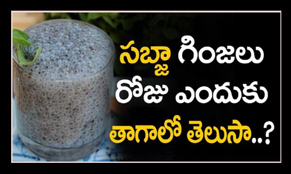 Sabja seeds health benefits-