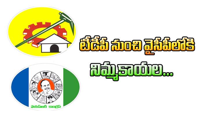 Guntur TDP Leader Nimmakayala Ready To JUMP Into YSRCP- Telugu