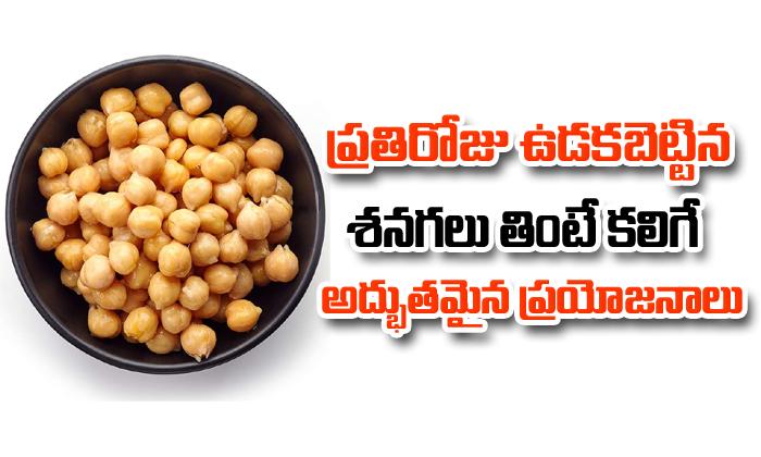 Health Benefits Of Chickpeas- Telugu
