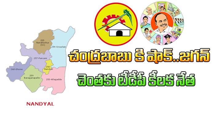 Nandyal TDP Leader Give Shock to Chandrababu-