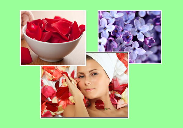 Flower Face Packs For Glowing Skin-