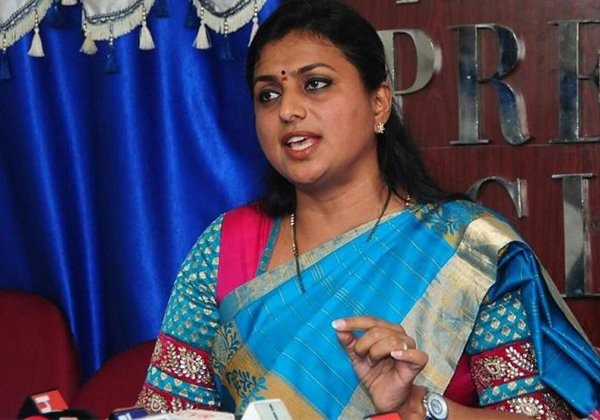 MLA Roja Stong Counter To Nara Chandrababu Naidu-