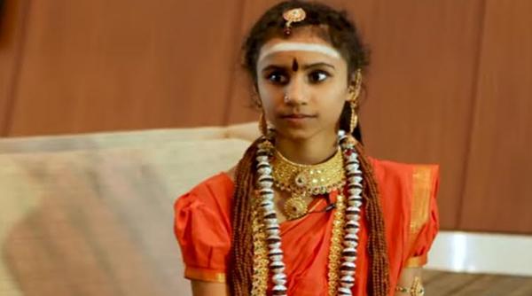 Ma Nithya Yogamaathananda  Girl Who Demonstrates Cool Superpower -