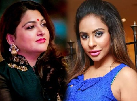 Actress Kushboo Call Sri Reddy DOG-