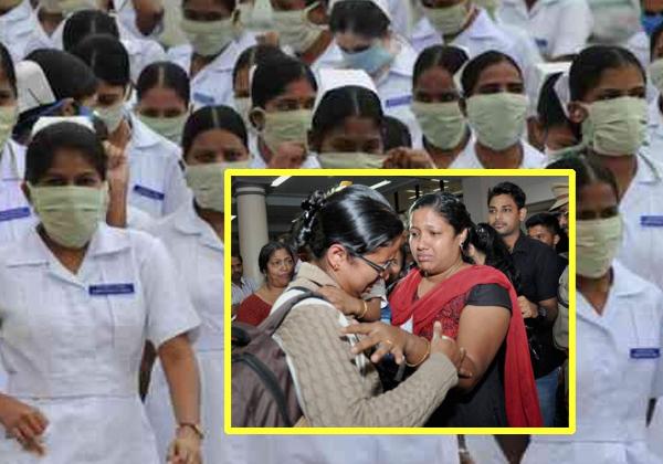 80 NRI Female Nurse House Arrest In Kuvait-