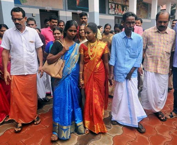 A Wedding In Kerala Relief Camp-