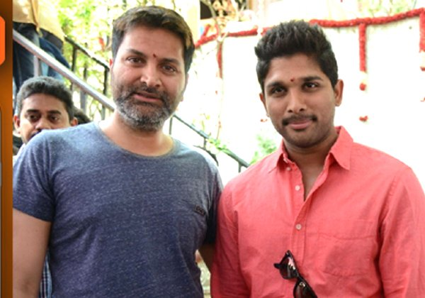 Allu Arjun Next With Trivikram Srinivas-