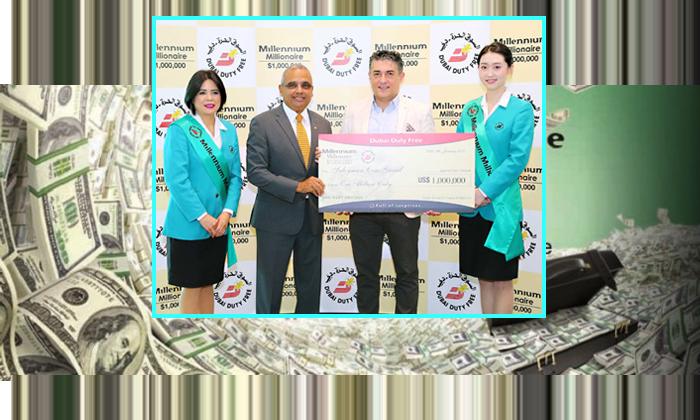 Expat From Kerala Wins Million In Dubai--Expat From Kerala Wins Million In Dubai-