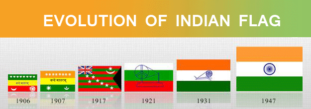 From 1906 To 1947  The Evolution Of Indian National Flag-