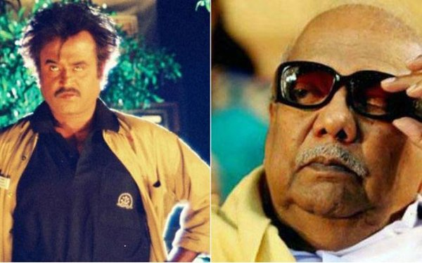 Karunanidhi Watched Rajinikanth Basha Film-