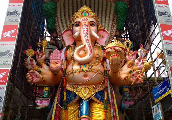 Khairatabad Ganesh 2018 Making Is Ready-