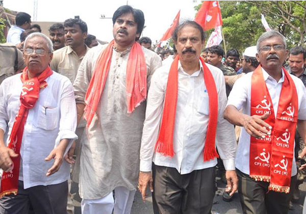 Left Parties Going To Tie Up With YS Jagan Or Pawan-