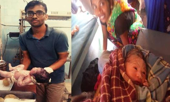 Mbbs Student Uses Whatsapp To Help Der Baby On Moving Train--MBBS Student Uses WhatsApp To Help Deliver Baby On Moving Train-