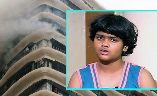 Mumbai 10-Year-Old Zen Sadavarte Put School Drill To Use As Fire Spread-