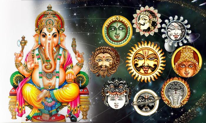 Navagraha Doshalu With Lord Ganesha- తెలుగు భక్తి కళ ఆద్యాధమిక ప్రసిద్ధ గోపురం పండగలు పూర్తి విశేషాలు -Navagraha Doshalu With Lord Ganesha-